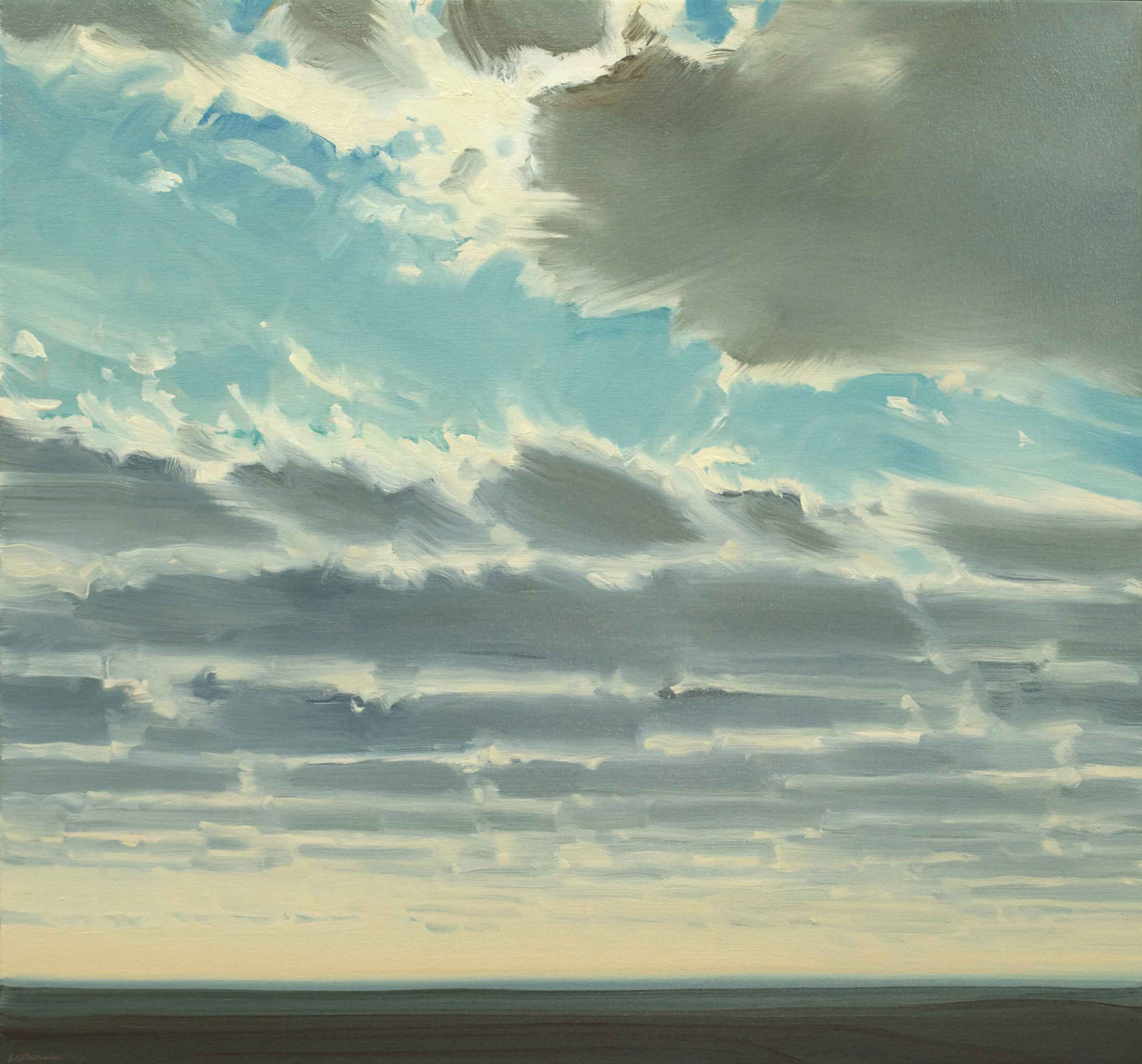 Cloud Blocking by  Lisa Grossman - Masterpiece Online