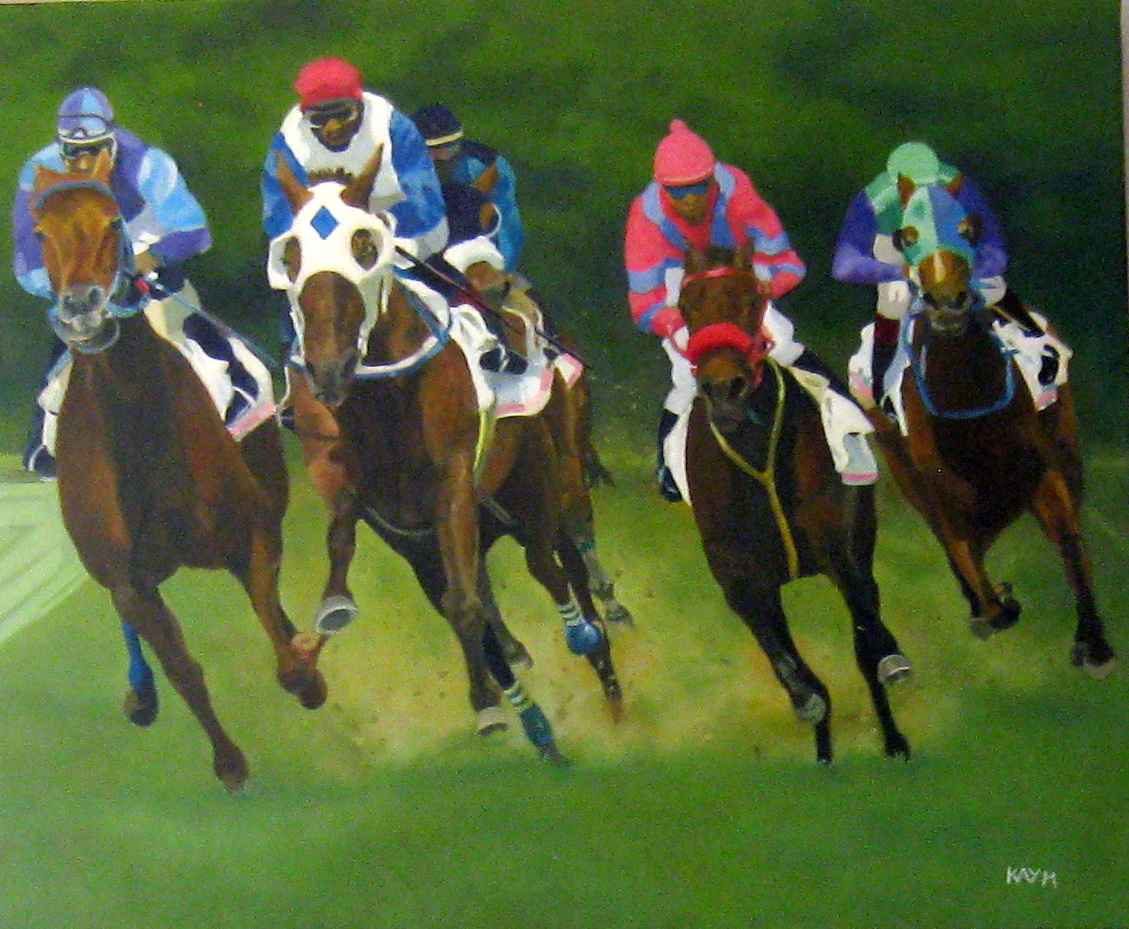 Going For Gold by  Kay Morgan - Masterpiece Online