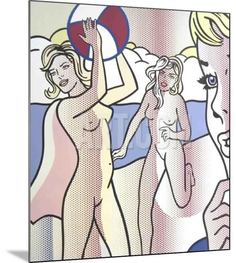 Nudes With Beach Ball by  Roy Lichtenstein - Masterpiece Online