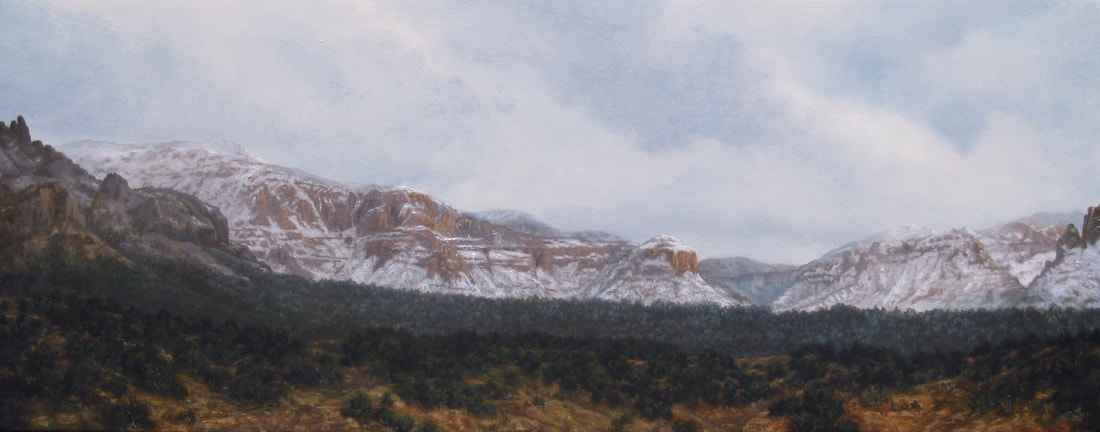 Desert Snow by  John DeFrance - Masterpiece Online