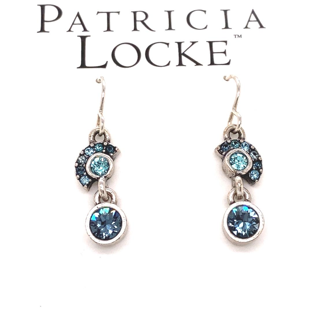 Lana Earrings in Silver, Bermuda