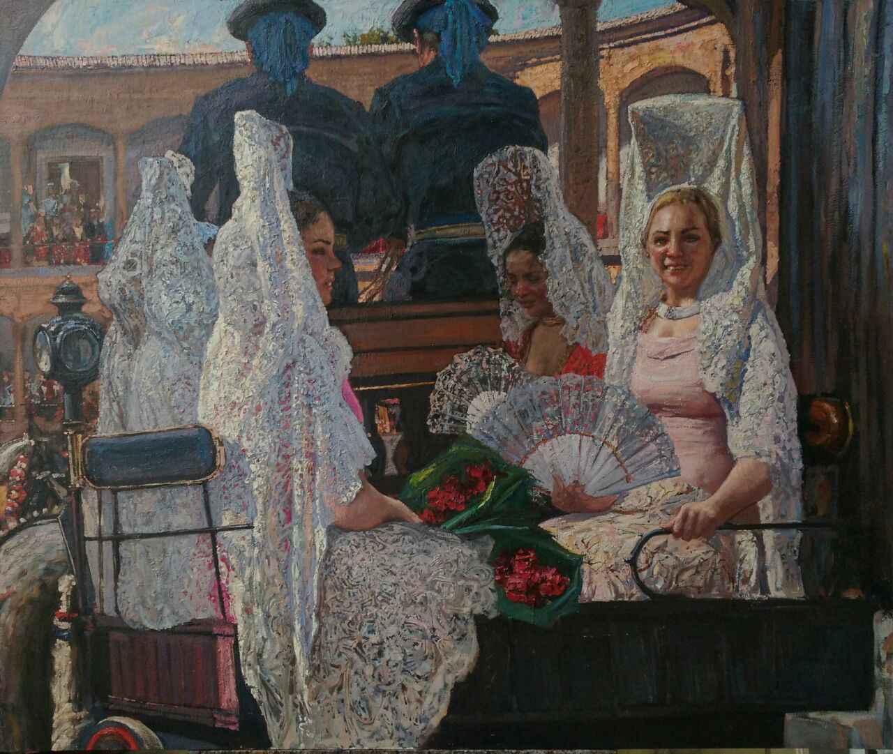 Goyescas (Russia) by  Daud Akhriev - Masterpiece Online