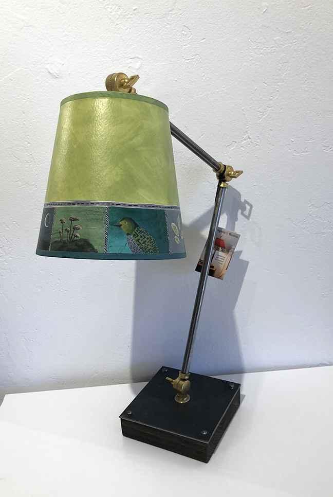 Woodland Trail Lamp, Giclee Shade