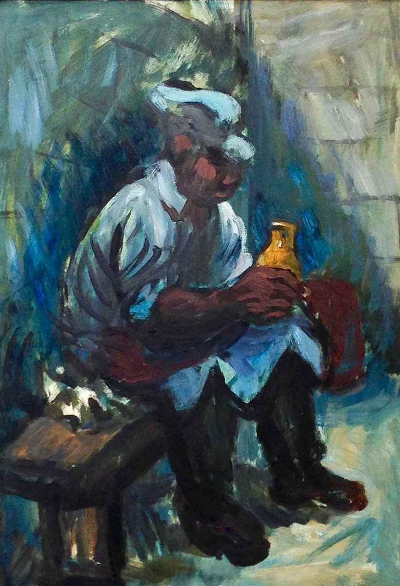 Worker at Allis Chalm... by Mr. Schomer Lichtner - Masterpiece Online