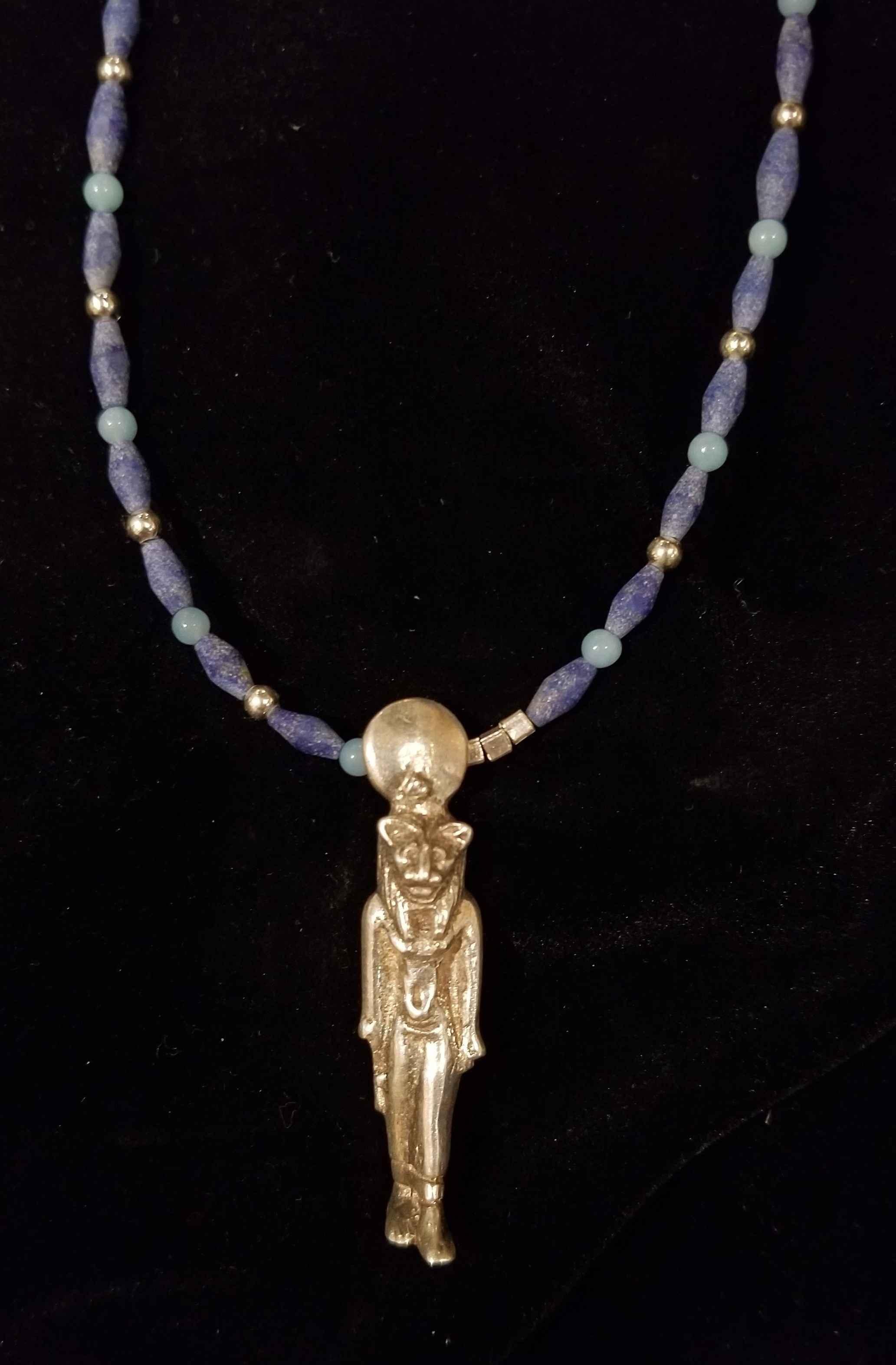 Goddess Sekhmet w/Lap... by  Crystal Gypsy Designs - Masterpiece Online