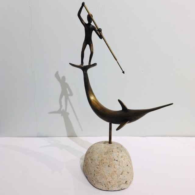 Swordfish Harpooner, ... by  Jay Lagemann - Masterpiece Online