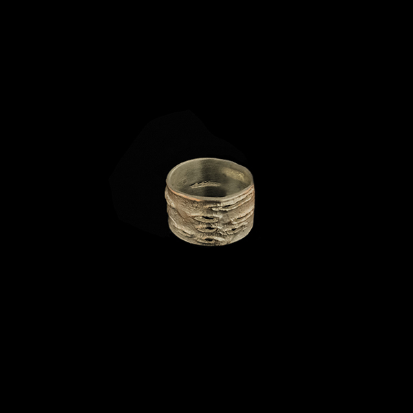 Birch Bark Medium Ring - Size 10