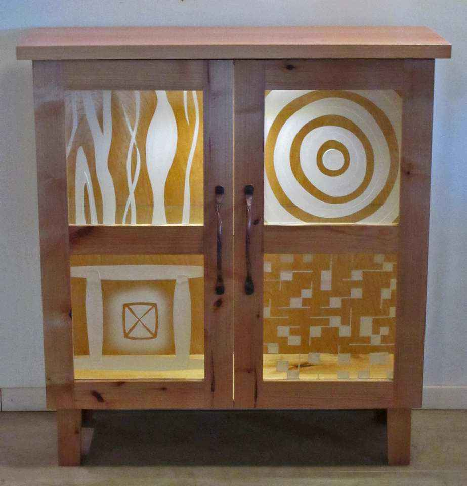 Quartet Cabinet, I by Mr Peter Mangan - Masterpiece Online