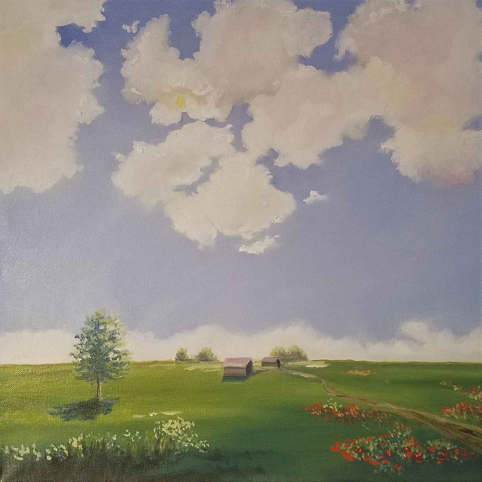 Peaceful Pasture  by  Christine Frisbee
