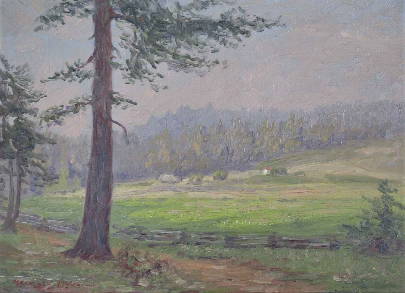 Unknown (Tree&meadow) by  Melville Wire - Masterpiece Online