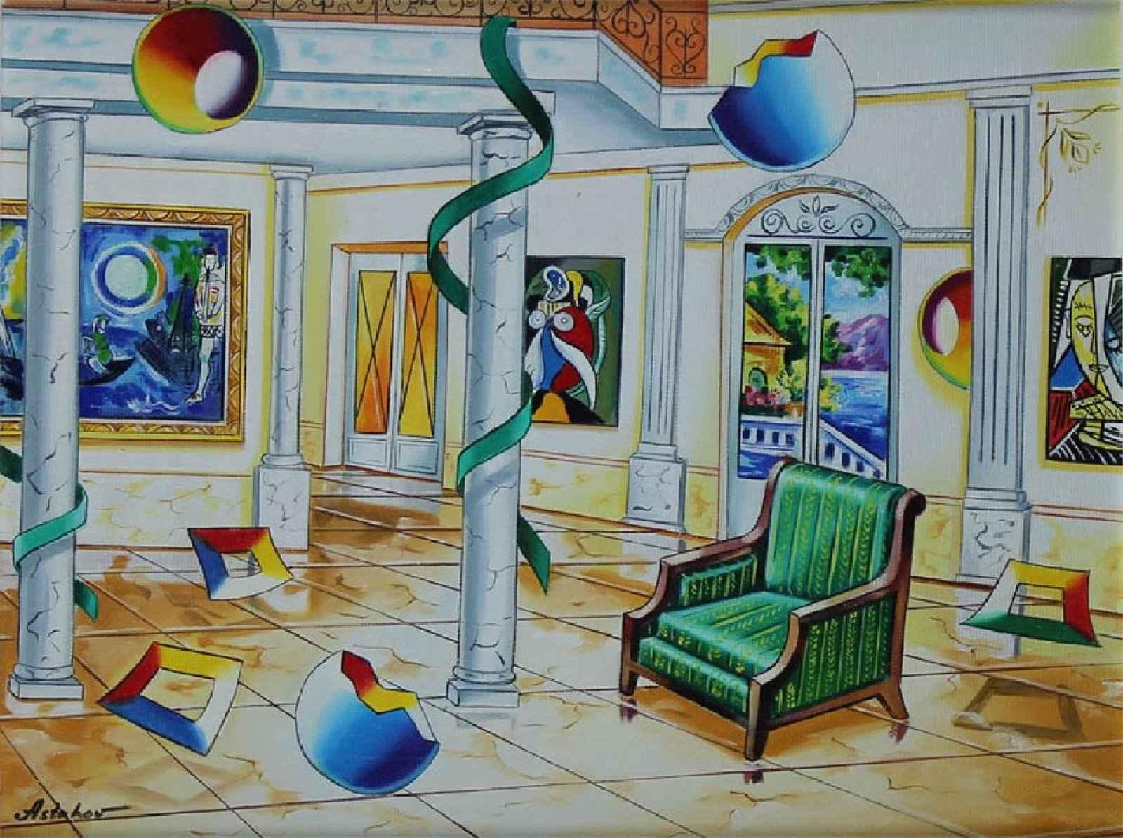Original Acrylic on C... by  Alexander Astahov - Masterpiece Online