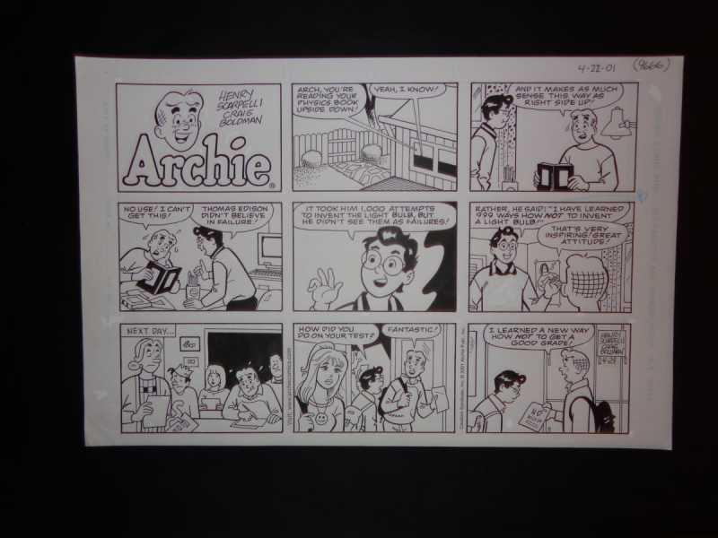 4-22-01   Archie Sund... by  Henry Scarpelli - Masterpiece Online