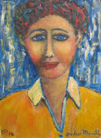 Blue Eyes by  Andres  Morillo - Masterpiece Online