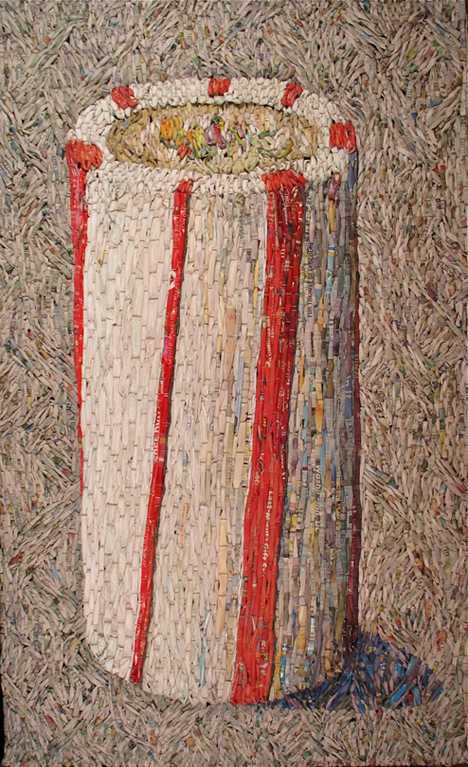 Red and White Striped... by  Gugger Petter - Masterpiece Online