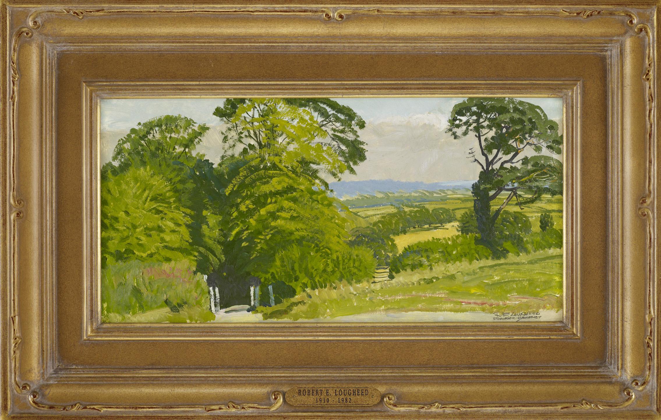 Stogumber Gate by  Robert Lougheed - Masterpiece Online