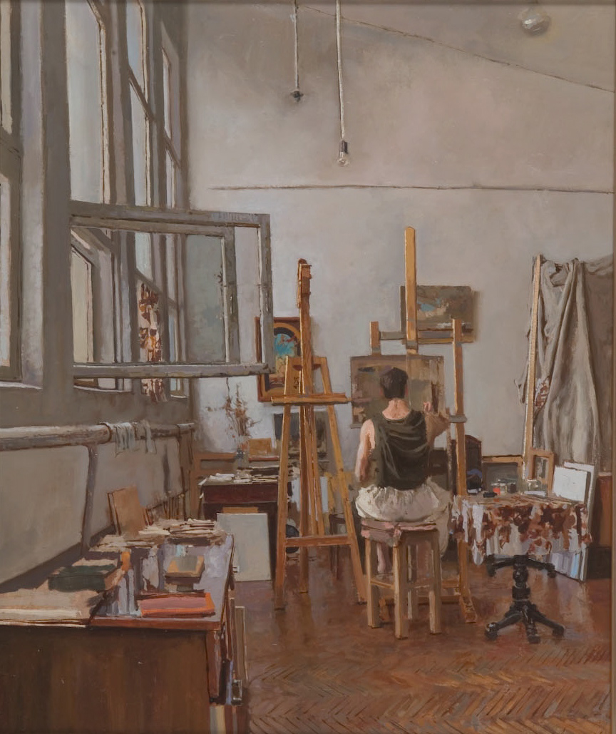 Alexander's Studio by  Daud Akhriev - Masterpiece Online