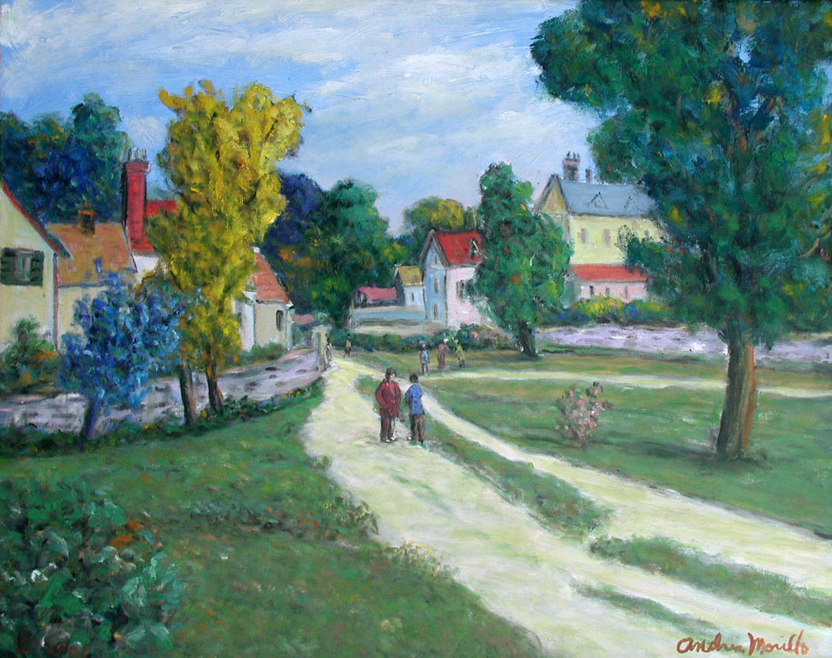 Small Village at Kent by  Andres  Morillo - Masterpiece Online