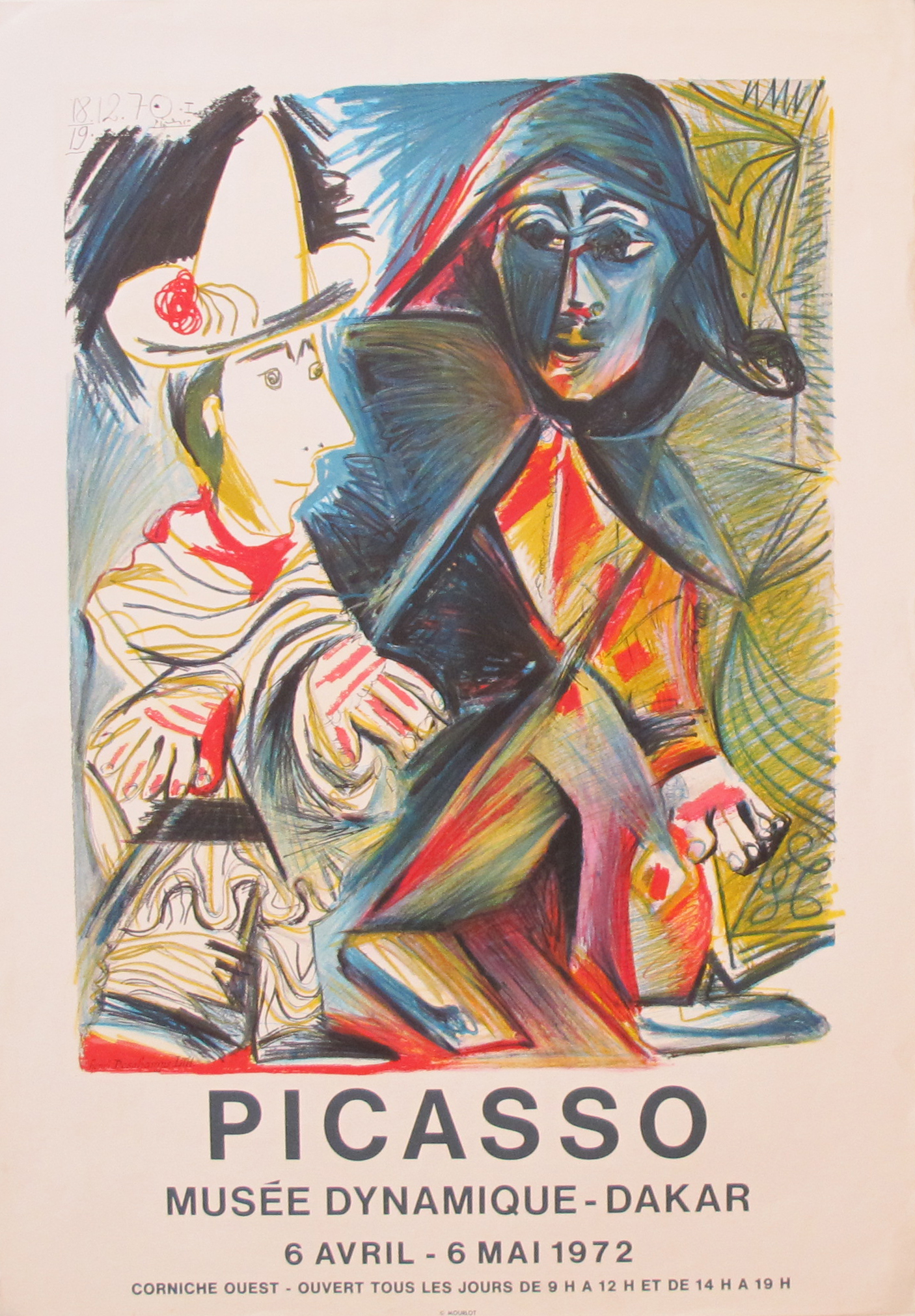 AP088 - Picasso - Mus... by  Pablo Picasso - Masterpiece Online