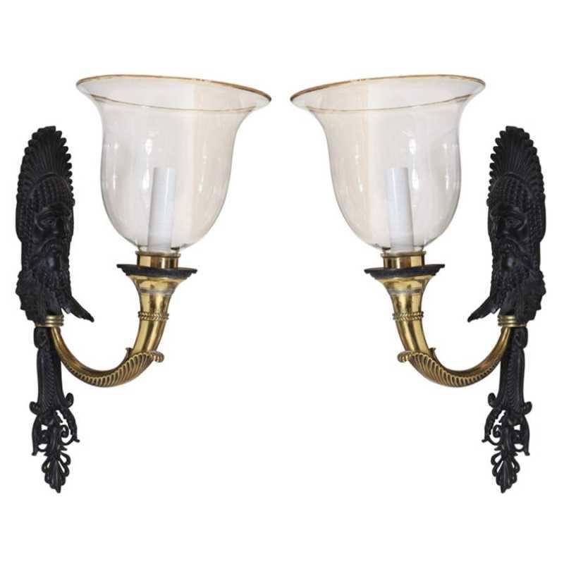 Unusual Pair of Bronz... by  American  - Masterpiece Online