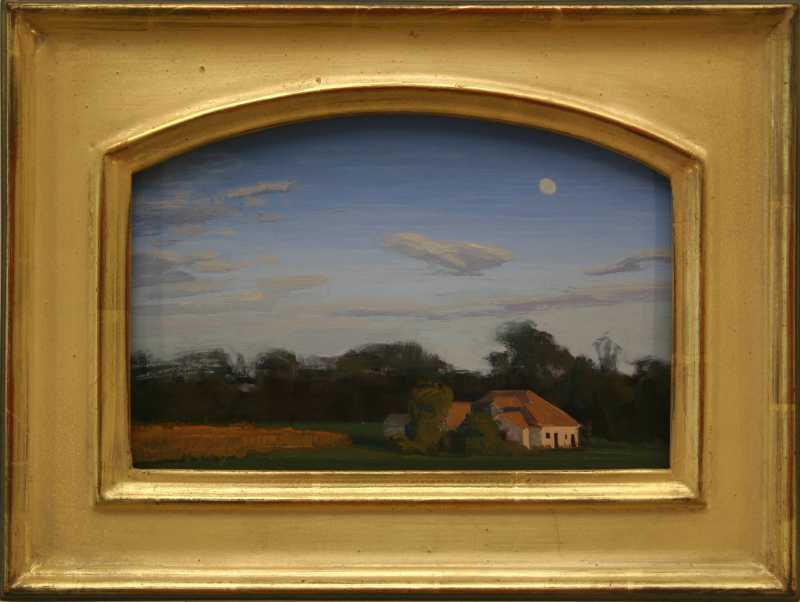 Autumn Moon by  Brad Aldridge - Masterpiece Online