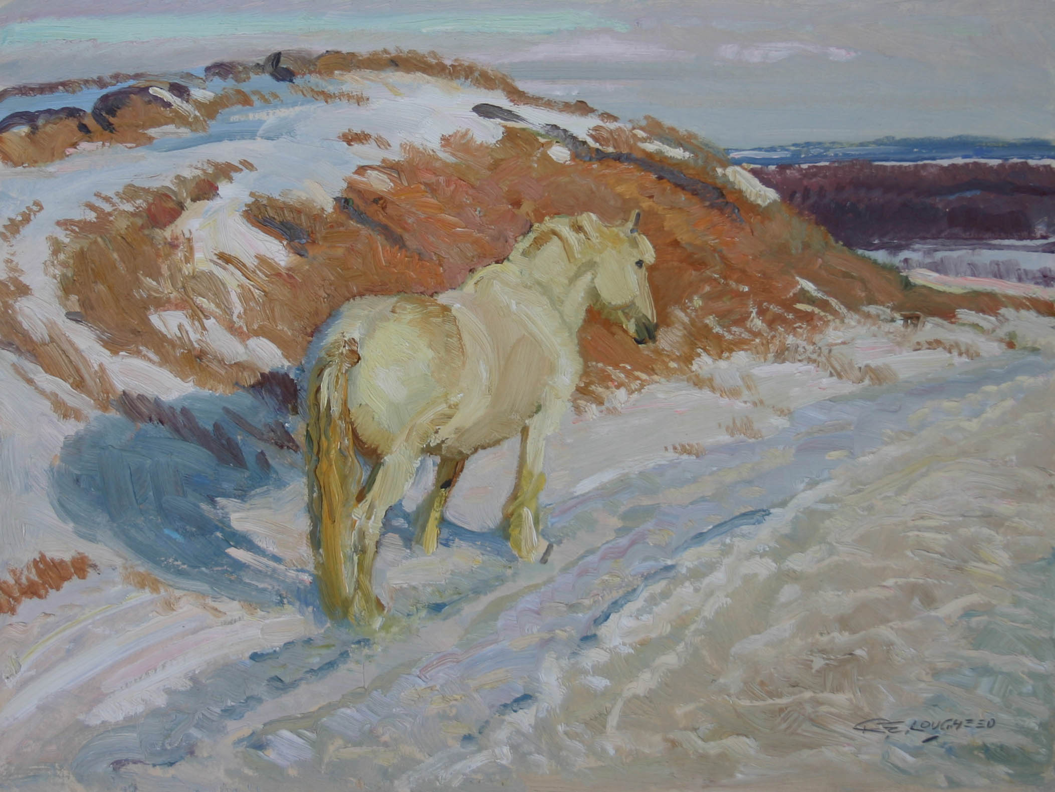 The Rusty Hill by  Robert Lougheed - Masterpiece Online
