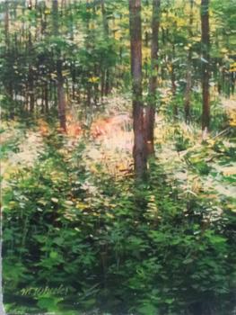 Morning Sun in Woods by  Michael Wheeler - Masterpiece Online