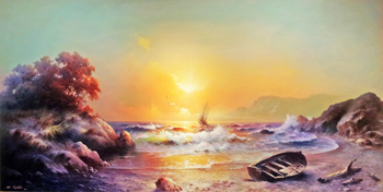 Sunset Glow by  Eugene  Garin  - Masterpiece Online