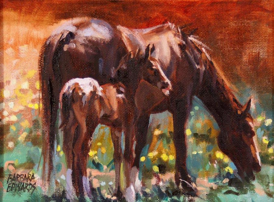 SOLD- Wildflower by  Barbara Summers Edwards - Masterpiece Online