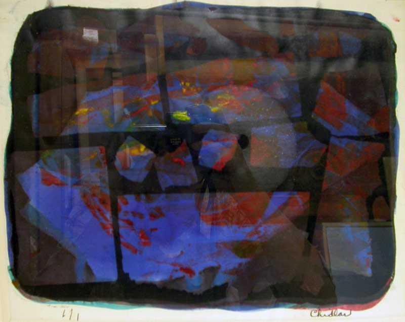 Monoscreen #1  by  Paul Chidlaw (1900-1989)