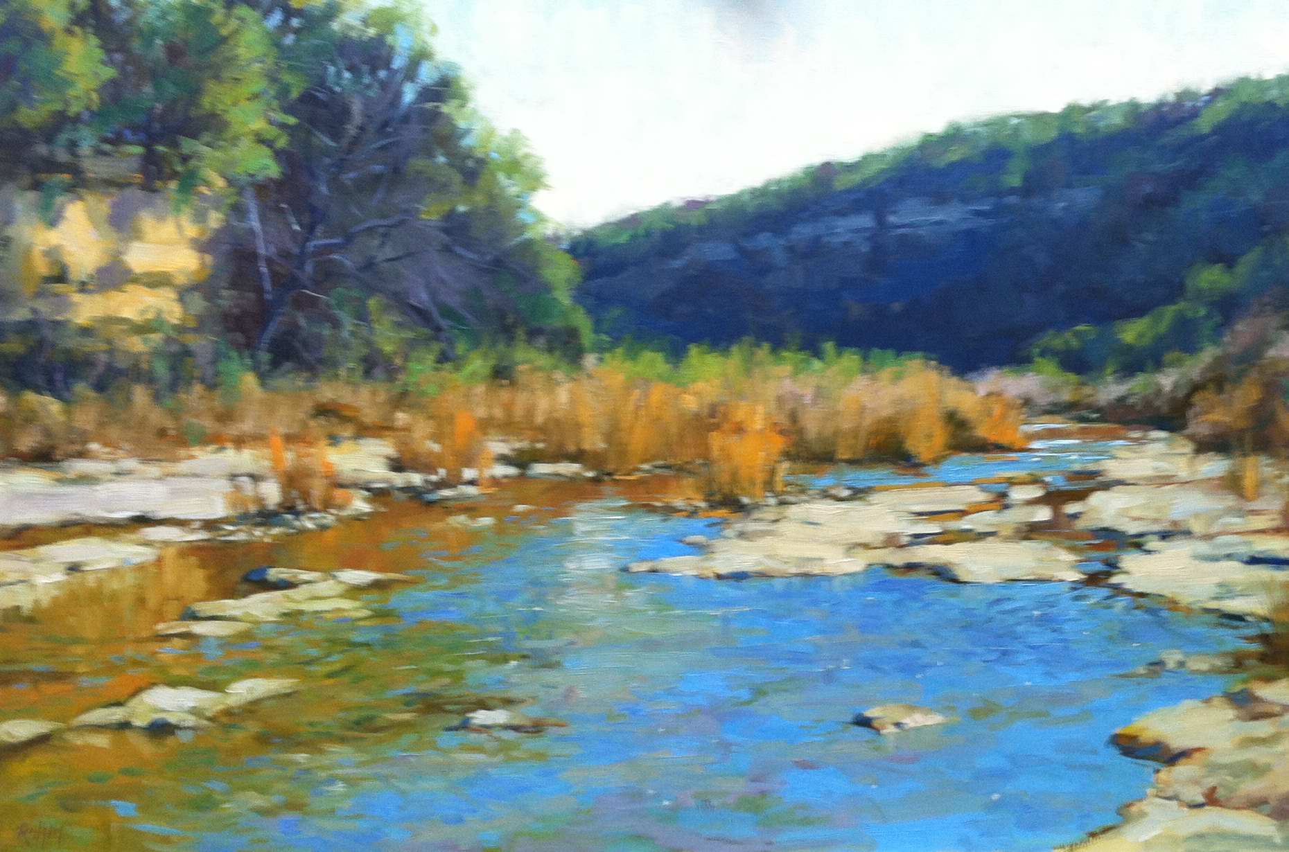 Morning on Cow Creek by Mr Bob Rohm - Masterpiece Online