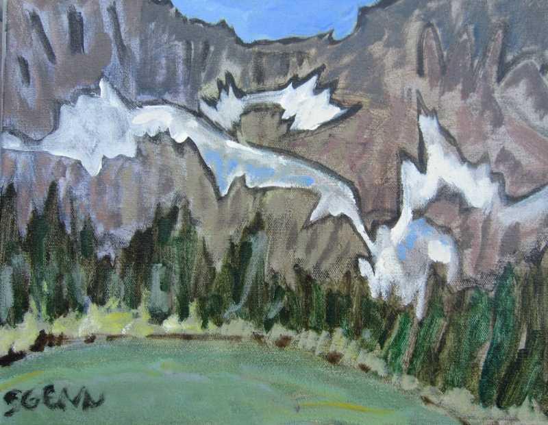 Shadowland, Lake O'Ha... by  Sara Genn - Masterpiece Online