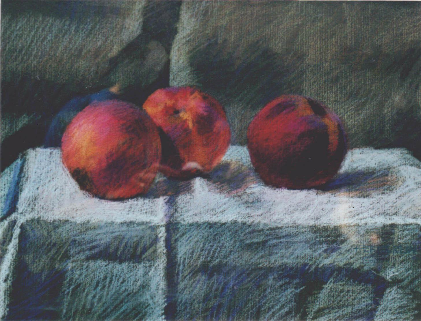 Peaches by  Melissa Hefferlin - Masterpiece Online