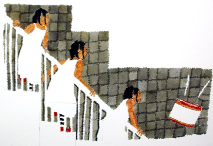 Mindy Follows The Dre... by  Richard Yarde - Masterpiece Online