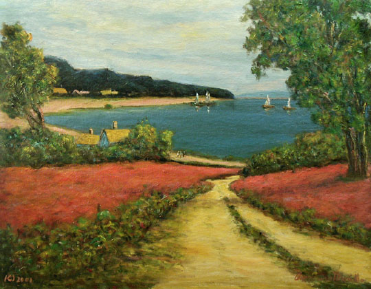 Path to the Beach by  Andres  Morillo - Masterpiece Online