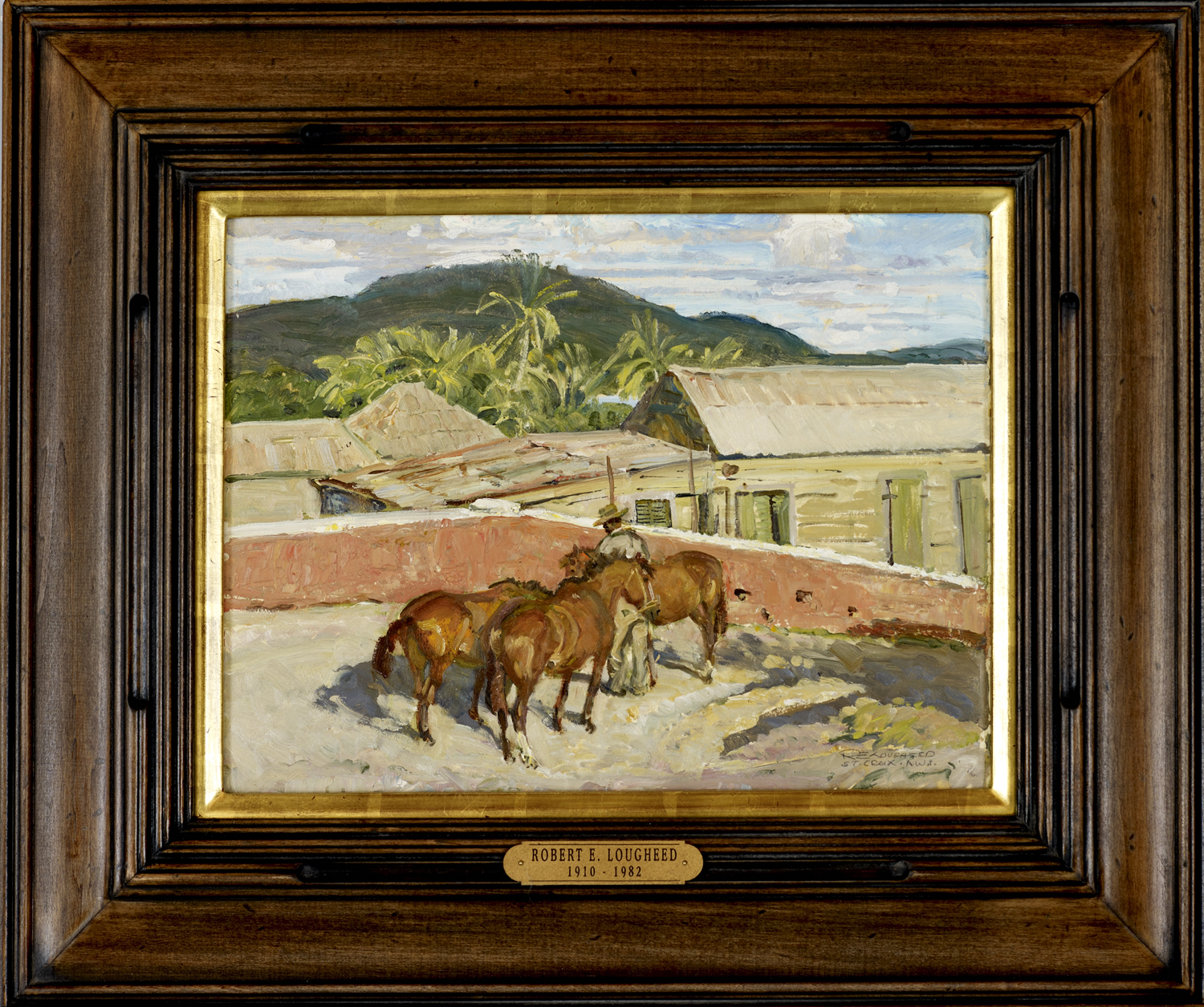 Christiansted Hill by  Robert Lougheed - Masterpiece Online