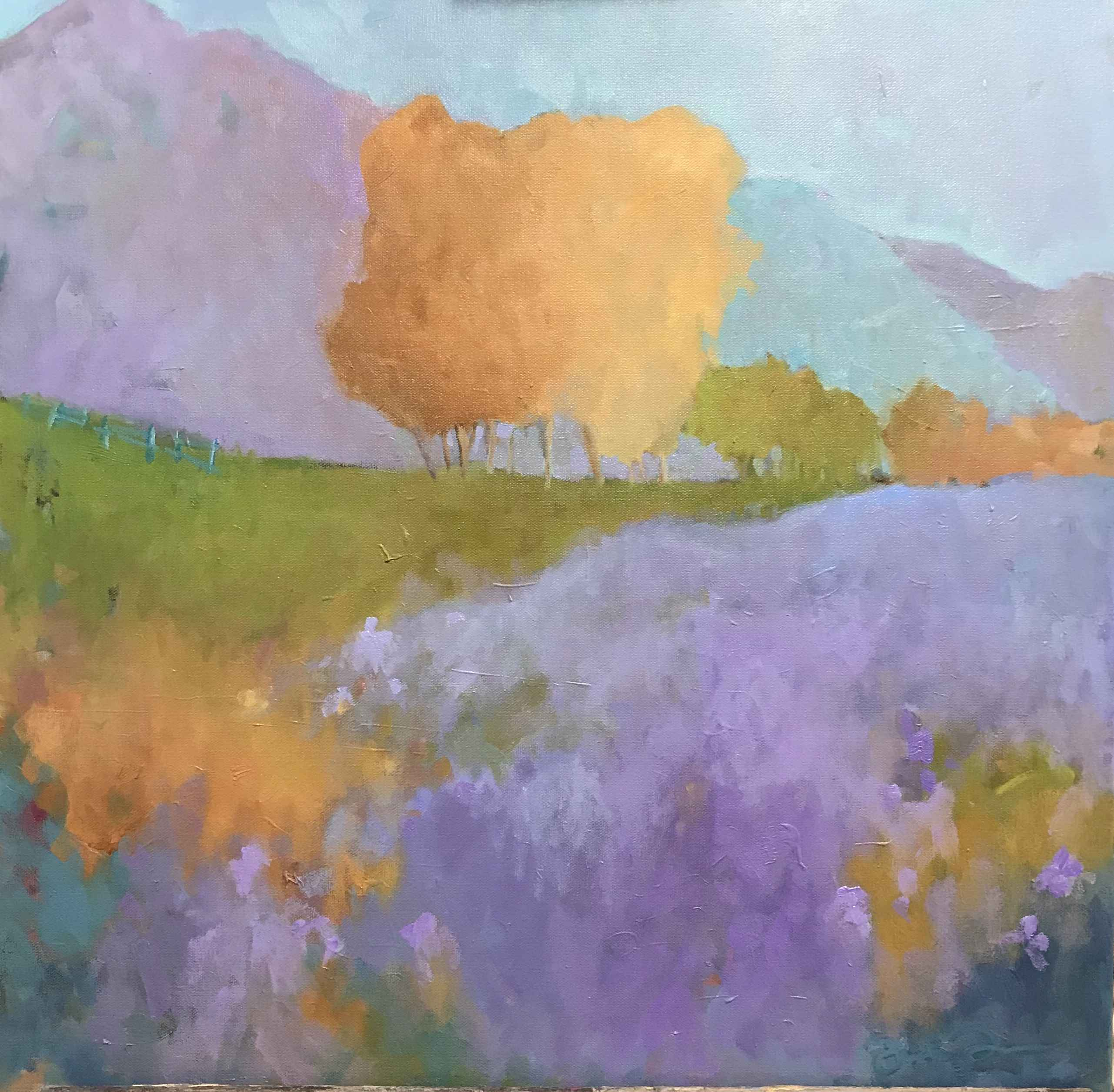 Another Flower Field by  Julie Friedman - Masterpiece Online