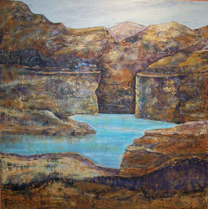 Canyon Charm by  Marilyn Bos - Masterpiece Online