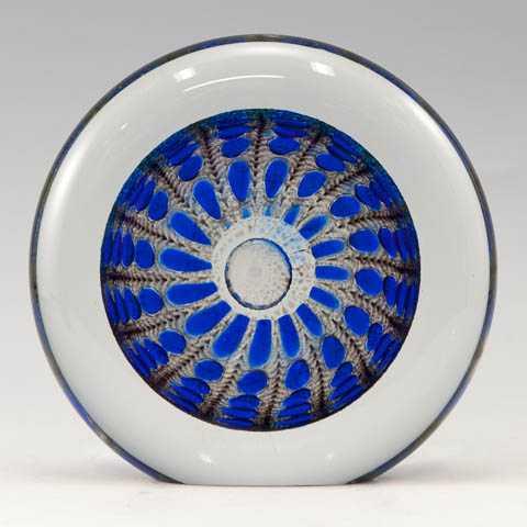PAperweight/Lg Blue D... by  Thomas Philabaum - Masterpiece Online
