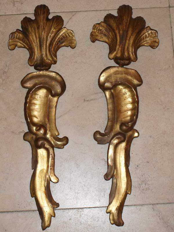 Pair of Giltwood Frag... by  Italian  - Masterpiece Online