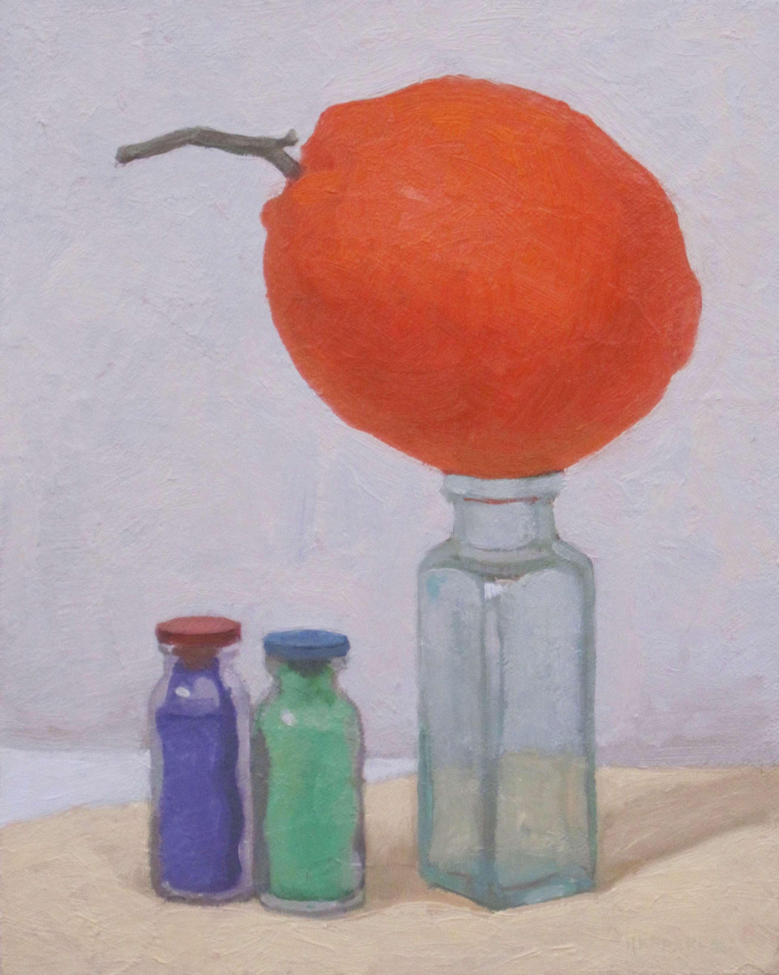 Big Orange and the Ti... by  Melissa Hefferlin - Masterpiece Online