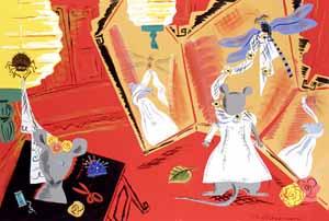 Mouse In Wedding Dress by  Marjorie Priceman - Masterpiece Online