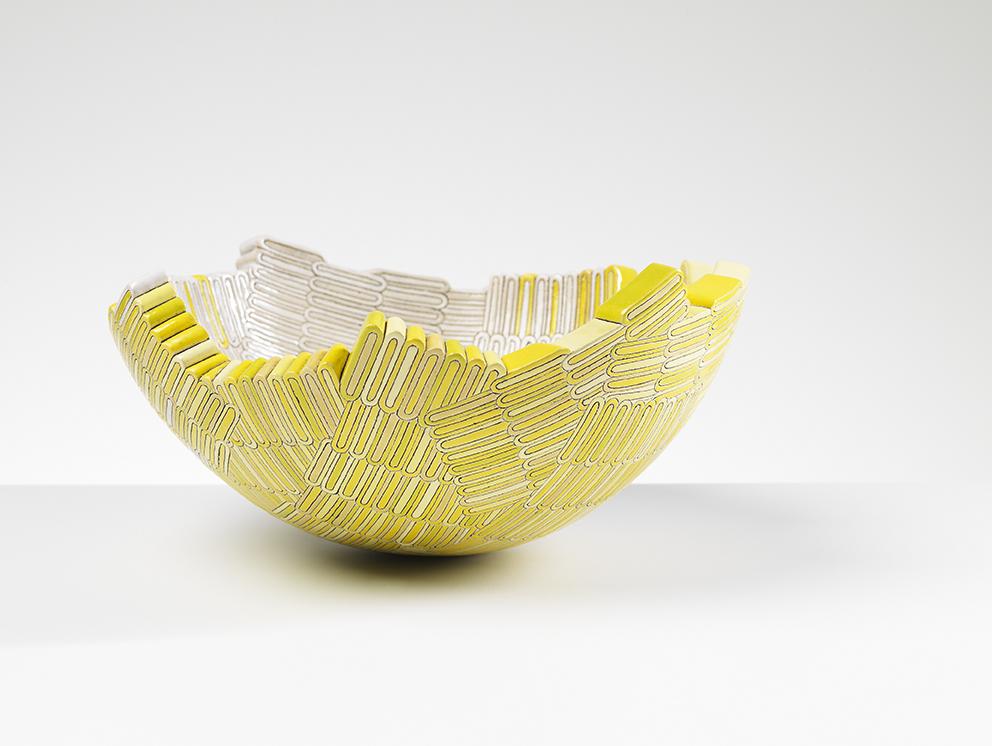 Lozenge Yellow by  Frances Priest - Masterpiece Online