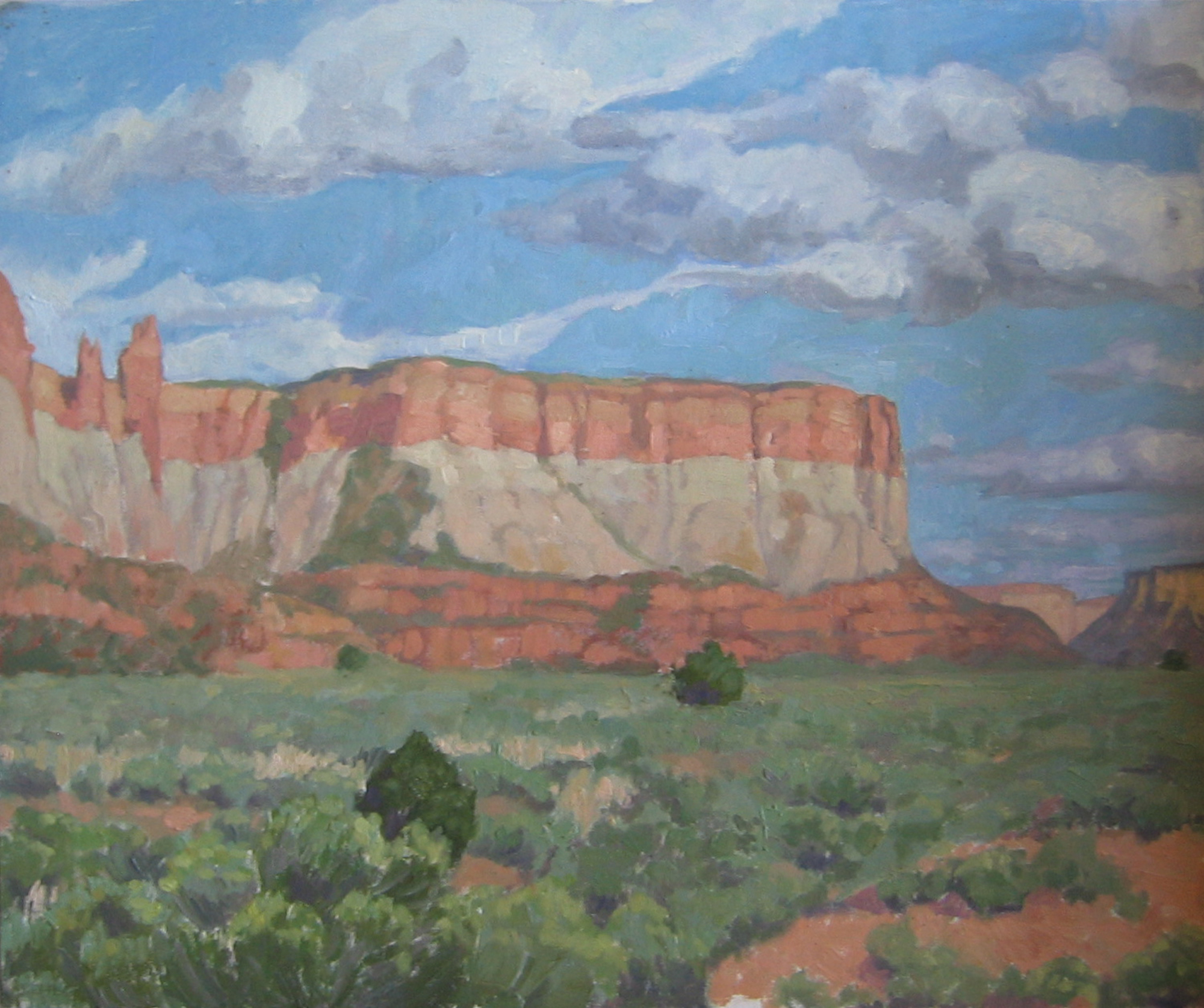 Zuni Sacred Corn Mesa by  Melissa Hefferlin - Masterpiece Online