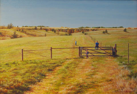The Grass is Always G... by   Teresa  Wheeler - Masterpiece Online