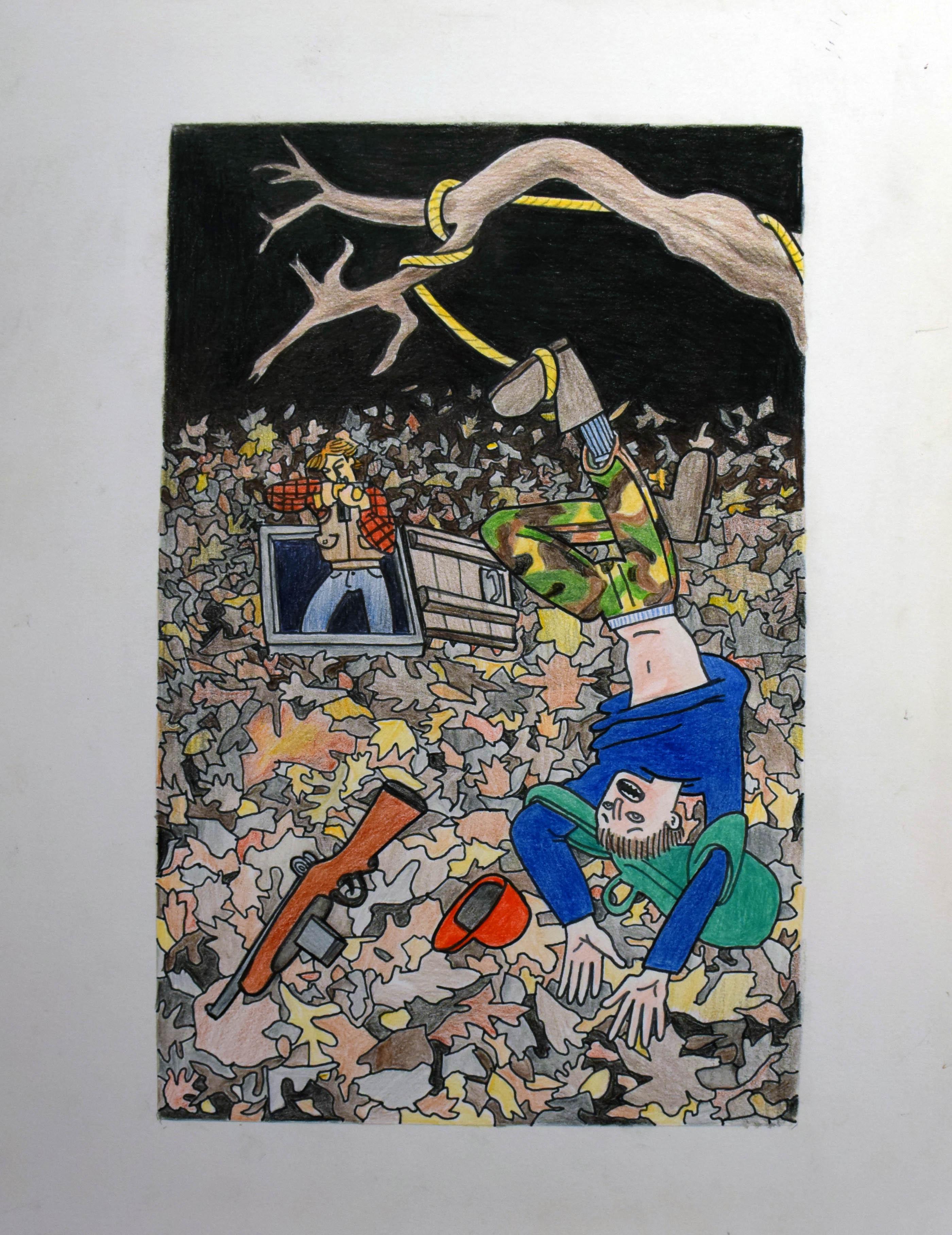 OmegaLand: Hanged Man by  Joe Boginski - Masterpiece Online