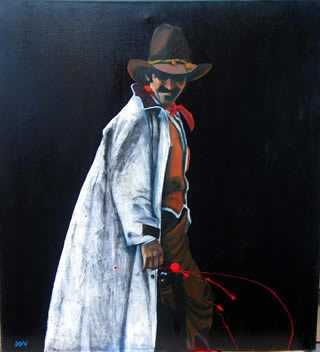 Cowboy White Duster O... by  David DeVary - Masterpiece Online