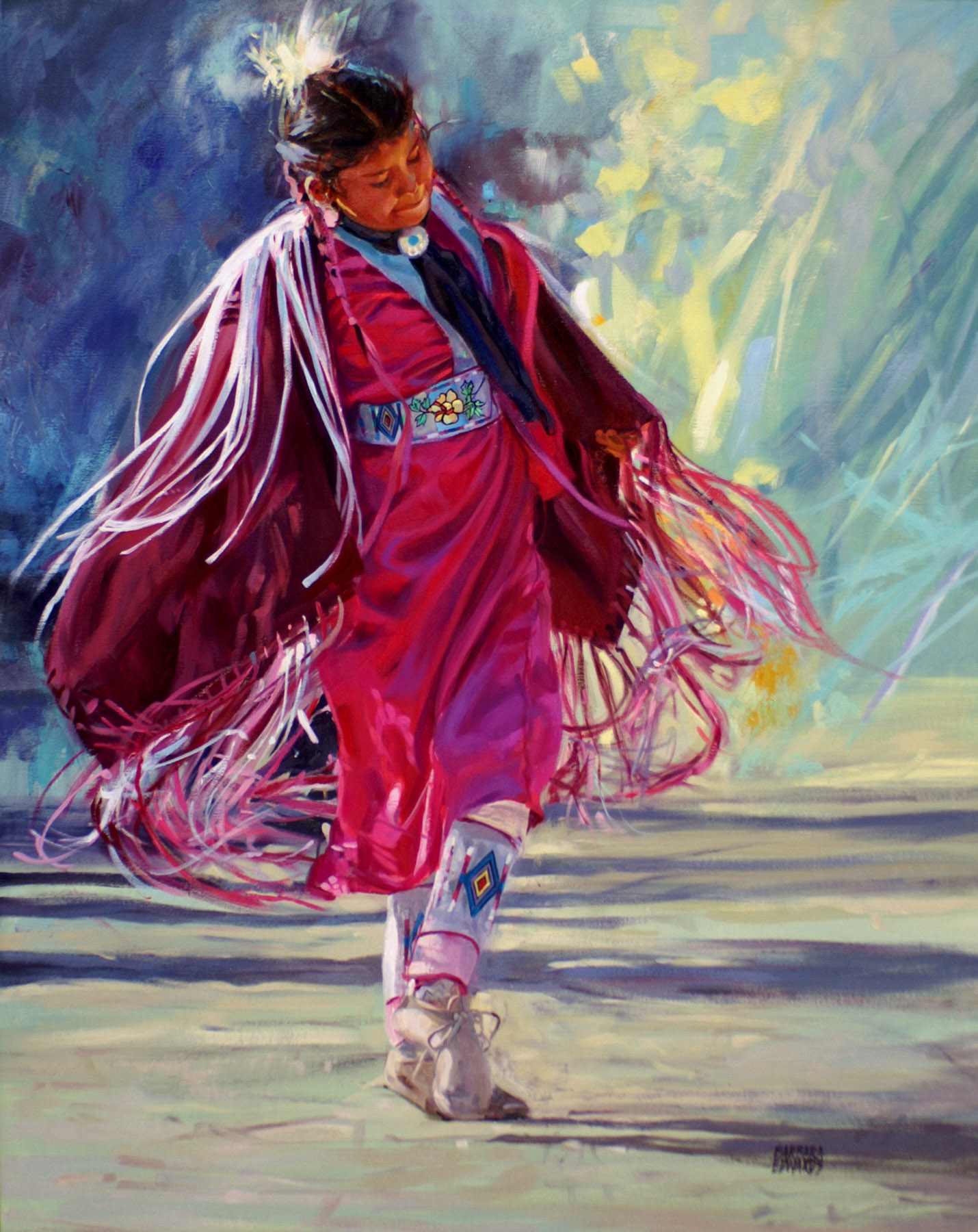 SOLD- A Joyful Dance by  Barbara Summers Edwards - Masterpiece Online