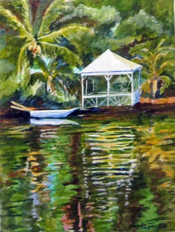 View from Nanny Cay by Mrs. Christine Taylor - Masterpiece Online