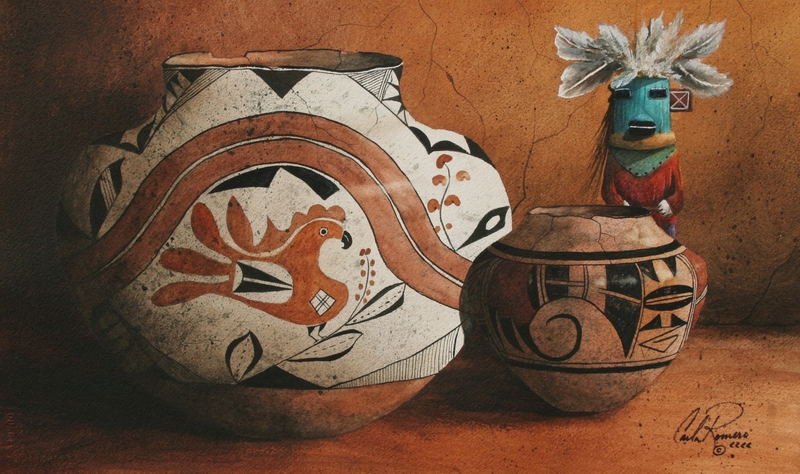 The Pottery Keeper by  Carla Romero - Masterpiece Online