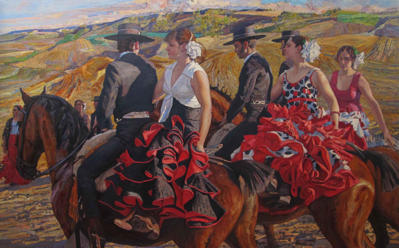 Antes de El Espectacu... by  Daud Akhriev - Masterpiece Online